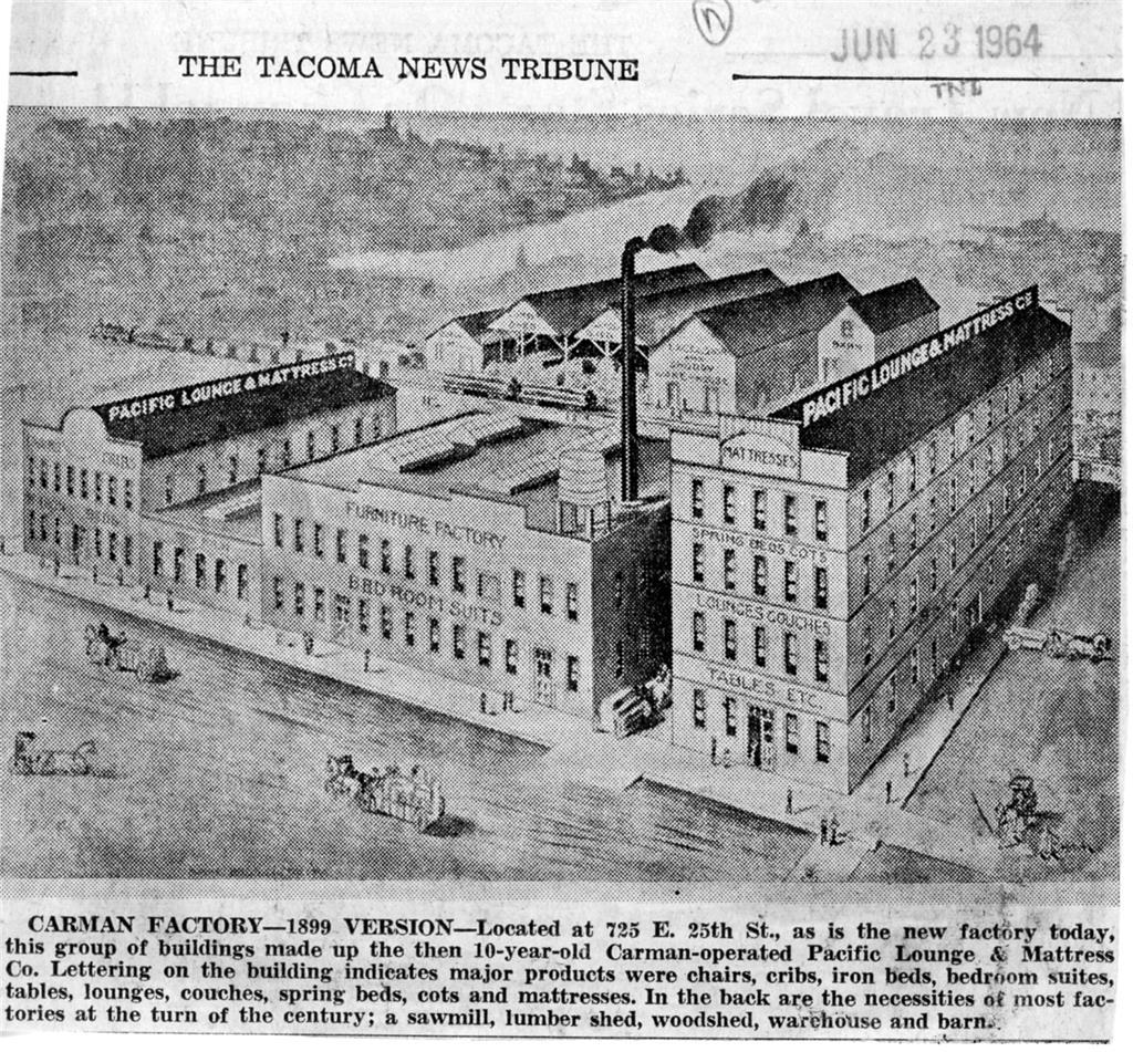 Furniture Manufacturing in Tacoma -- Thumbnail History