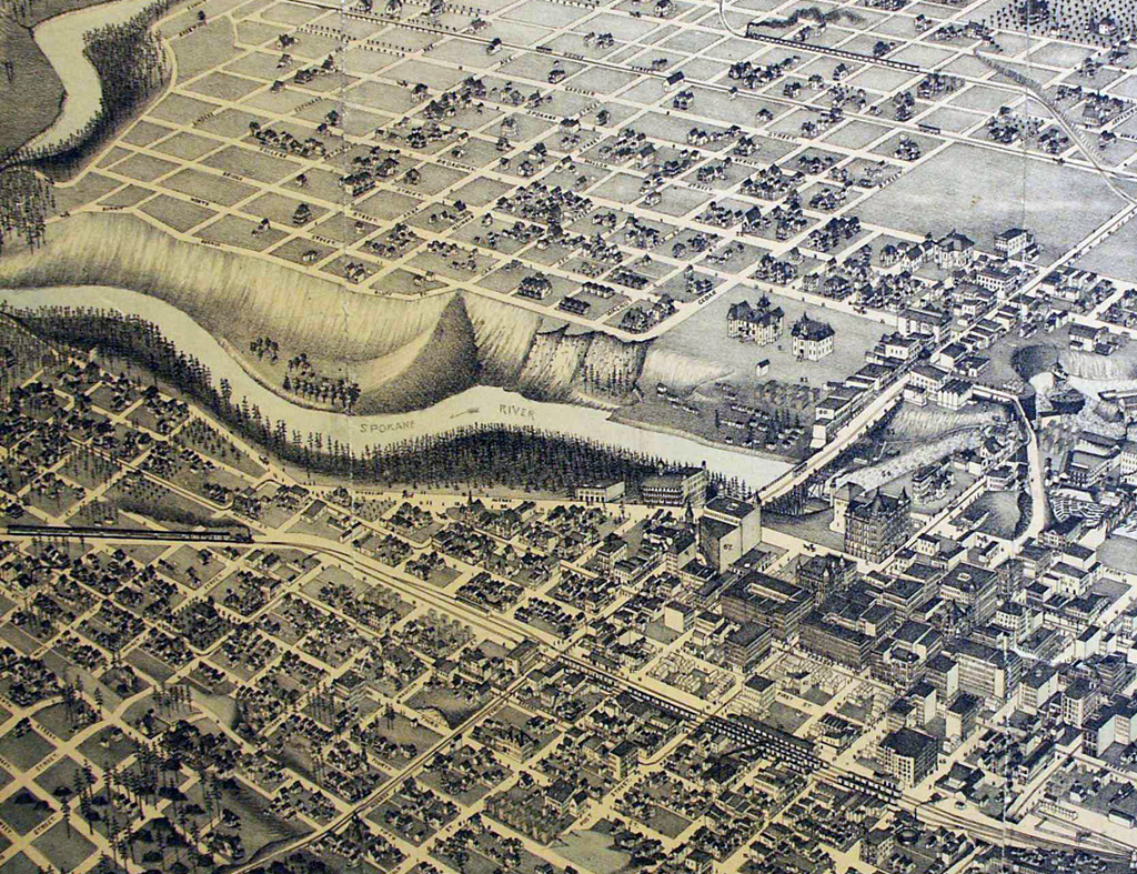 Jim Glover On The River >> Peaceful Valley (Spokane) - HistoryLink.org