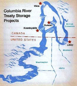 Columbia River Treaty -- Planning, Negotiation, and Implementation on