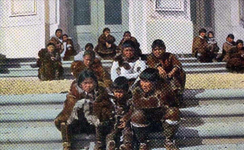 Siberian Yupik arrive in Olympia en route to the Alaska