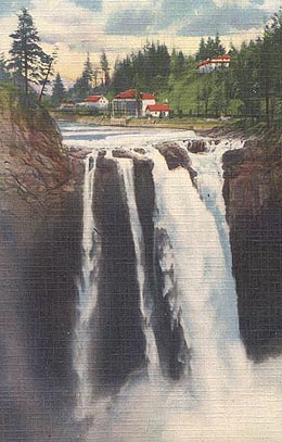 Tacoma To Seattle >> Snoqualmie Falls generators begin producing electricity on July 31, 1899. - HistoryLink.org